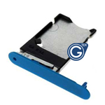 Nokia Lumia 900 Sim Card Tray - Cyan - Part no: 026924Q