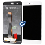 Huawei P10 Plus Complete LCD and Touchpad Assembly in White - OEM