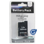 PSP 3000 battery pack 3.6v 2400mAh