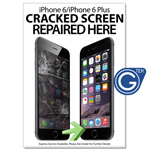 New A1 Large 841 x 594 mm iPhone 6/6 Plus Cracked Screen Repaired Here Poster