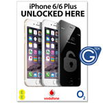 New A1 Large 841 x 594 mm iPhone 6/6 Plus Unlocked Here Poster