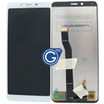 Redmi 6A Complete LCD and Digitizer in White-HQ