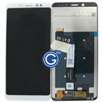Redmi Note 5 Complete LCD and Digitizer in White-HQ