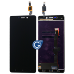 Redmi 4 LCD with Touchpad Assembly in Black - HQ