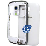 Samsung Galaxy S Duos S7562 Rear housing in white