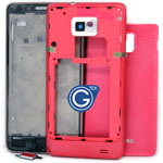 Samsung Galaxy S2 i9100 Complete Housing in Pink