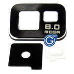 Samsung Galaxy S2 i9100 camera cover black