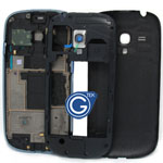 Samsung Galaxy S3 Mini i8190 housing blue