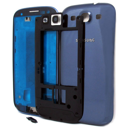 Samsung Galaxy S3 i9300 complete housing in blue