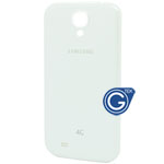 Samsung Galaxy S4 LTE(4G) i9505 back cover in white(with 4G logo)