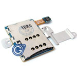 Samsung N8000 Sim Card Flex with Metal Spacer