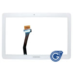 Samsung Galaxy Note 10.1 N8000,N8010,N8013,P5100,P5110 Digitizer in White