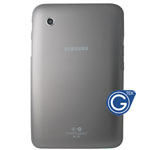 Samsung Galaxy Tab 2 7.0 P3100 Back Cover with Side Button Grey