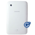 Samsung Galaxy Tab 2 7.0 P3100 Back Cover with Side Button White