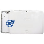 Samsung P5100 back cover with side button complete in white