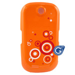 Samsung S3650 battery cover orange