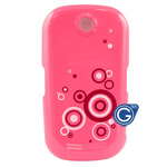 Samsung S3650 battery cover pink