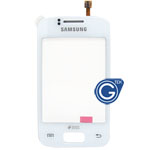 Samsung S6102, Galaxy Y Duos, GT-S6102, Samsung GT-S6102B Digitizer Touchpad white