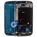 Samsung i9300 Galaxy S3 LCD Frame with Side Button in White