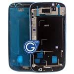 Samsung i9300 Galaxy S3 LCD Frame Metallic Blue