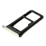 Genuine Samsung SM-G930F Galaxy S7 White ASSY DECO-SIM TRAY SINGLE - Part Number: GH98-39260B