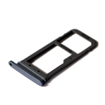 Genuine Samsung SM-G930F Galaxy S7 Black ASSY DECO-SIM TRAY SINGLE - Part number: GH98-39260A
