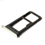 Genuine Samsung SM-G935F Galaxy S7 Edge - White ASSY DECO SIM TRAY - Part no: GH98-38787B