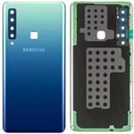 Genuine Samsung A9 A920 Battery Cover In Blue With Adhesive - Part no: GH82-18234B, GH82-18239B, GH82-18245B
