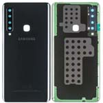 Genuine Samsung A9 2018 (A920) Battery Cover In Black With Adhesive - Part no: GH82-18234A, GH82-18239A, GH82-18245A
