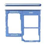 Genuine Samsung Galaxy A40 (A405F) Sim Card Holder Blue Part No: GH98-44303C