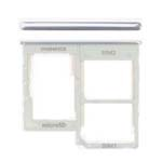 Genuine Samsung Galaxy A40 (A405F) Sim Card Holder White Part No: GH98-44303B