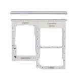 Genuine Samsung Galaxy A41 Sim Card Holder White Part No: GH98-45275C