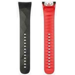 Genuine Samsung Samsung Gear Fit 2 Pro Adjust / Hole Strap Red/Black Part No: GH98-41597A