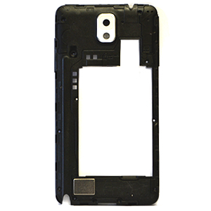 Genuine Samsung SM-N9005 Galaxy Note 3 Rear Chasis with Parts in White- Part no: GH96-06544B (Grade A)