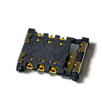 Genuine Samsung SM-J100H Galaxy J1 Black Duos CONNECTOR-CARD E 13038- Samsung part no: 3709-001799