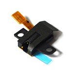 Genuine Samsung SM-J100H Galaxy J1 Black Duos UNIT-EARJACK FPC 13038- Samsung part no: GH59-14350A