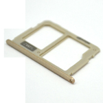 Genuine Samsung J730F Sim/SD Card Tray in Gold - Part no: GH64-06280C