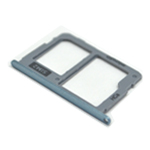 Genuine Samsung SM-J730F/DS Galaxy J7 Duos (2017) - Sim / SD Card Tray Blue/Silver - part no: GH64-06280B