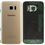 Genuine Samsung SM-G935F Galaxy S7 Edge Battery Cover in Gold-Samsung part no: GH82-11346C