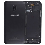 Genuine Samsung SM-J330 Galaxy J3 (2017) Battery Cover In Black - Part no: GH82-14890A