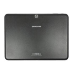 Genuine Samsung SM-T530 Galaxy Tab 4 10.1 WiFi - Back Cover Black - Part No: GH98-32757A