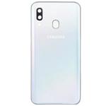 Genuine Samsung Galaxy A40 SM-A405 Battery Cover In White - Part no: GH82-19406B