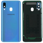 Genuine Samsung Galaxy A40 SM-A405 Battery Cover In Blue - Part no: GH82-19406C