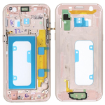 Genuine Samsung Galaxy A3 2017 A320 Pink Gold Chassis / Middle Cover - Part no: GH96-10575D