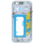 Genuine Samsung Galaxy A3 2017 A320 Blue Chassis / Middle Cover - Part no: GH96-10575C