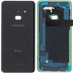Genuine Samsung Galaxy A8 2018 SM-A530 Black Duos Battery / Rear Cover - Part no: GH82-15557A