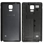 Genuine Samsung N910 Galaxy Note 4 Black Battery Cover - Part no: GH98-34209B
