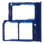 Genuine Samsung Galaxy A20e Dual Sim SM-A202 Blue Sim Tray Cover - Part no: GH98-44377C