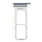 Genuine Samsung Galaxy Note 10 SM-N970 Aura Black Dual Sim Tray / Holder - Part no: GH98-44525A