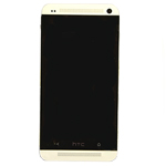 HTC One M7 LCD with Digitizer and Front Housing Complete (white)